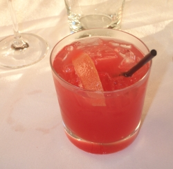 Коктейль с соком  грейпфрута