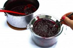 Заготовка сока черники
