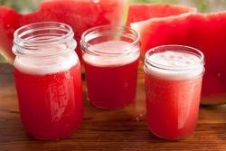 Заготовка сока из арбуза